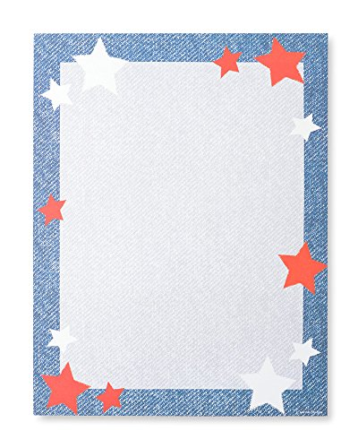 DENIM STAR STATIONERY Paper - 100 Count ()