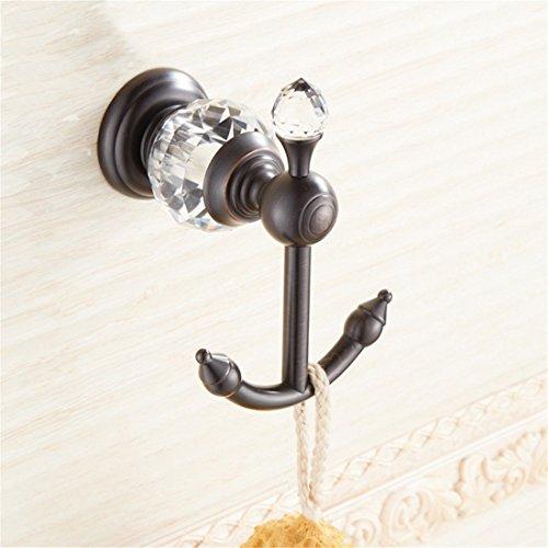 LINA bathroom accessories LAONA European black 古 crystal b
