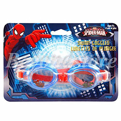 NEW Marvel Amazing Spider-man the First Swim Goggles for Kids