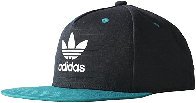Gorra adidas – Snapback Flat Brim negro/turquesa talla: OSFY ...