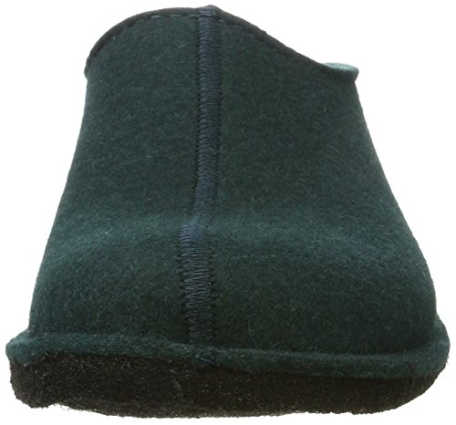 Haflinger Flair Smily - Pantuflas Unisex adulto Grün (Tannengrün)