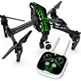 Skin For DJI Inspire 1 Quadcopter Drone – Bio Glare | MightySkins Protective, Durable, and Unique Vinyl Decal wrap cover | Easy To Apply, Remove, and Change Styles | Made in the USA