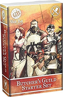 Steamforged Games Guild Ball Butcher Starter Set from Lion Rampant Imports Ltd