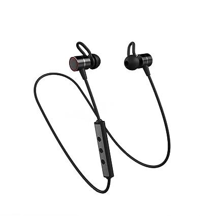 Auriculares Bluetooth Auriculares Inalámbricos De Doble Batería Bluetooth 4.1 Auriculares Deportivos Magnéticos Con Cancelación De Ruido