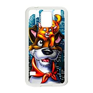 Generic for Samsung Galaxy S5 Cell Phone Case White Oliver and Company Custom HLFDKFFKD2850