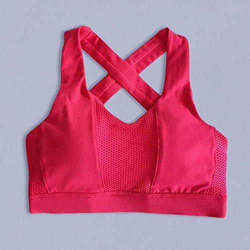 Alta Reggiseno In Intimo Daeou Femminile Sport Fitness Di C Esecuzione Ad Yoga Resistenza Xv5qwZ5