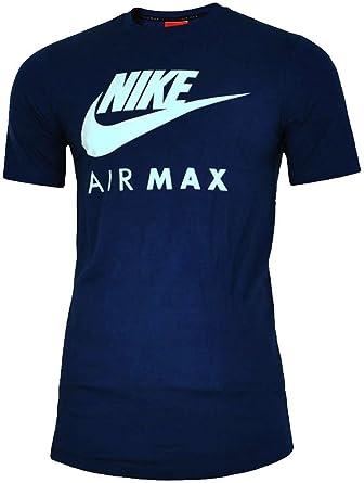 Nike Air Max - Camiseta de manga corta y cuello redondo b729ebc8df8