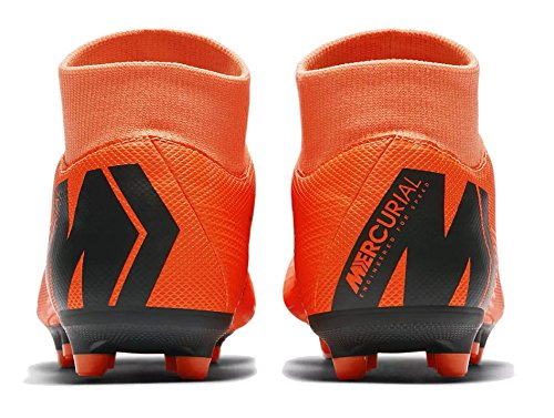 Calcio Scarpe Total Orange Uomo Mercurial Nike Black t da VI Academy Superfly MG 6vnTxxXq0w