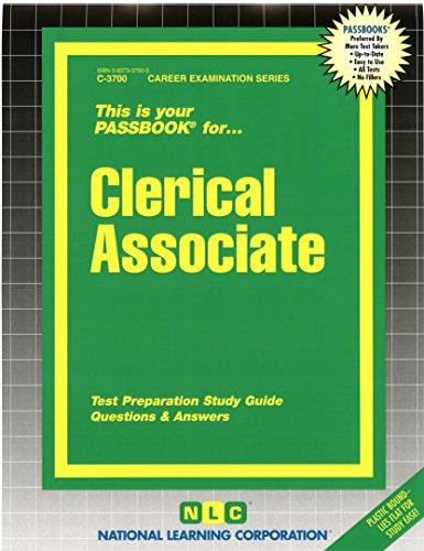 Clerical Associate(Passbooks) (Career Examination Series)