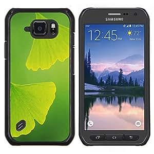 Caucho caso de Shell duro de la cubierta de accesorios de protección BY RAYDREAMMM - Samsung Galaxy S6Active Active G890A - Dos hojas