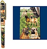 Best Ruth Maysteads - Bullmastiff Dog Roller Ball Pen Designed by Ruth Review