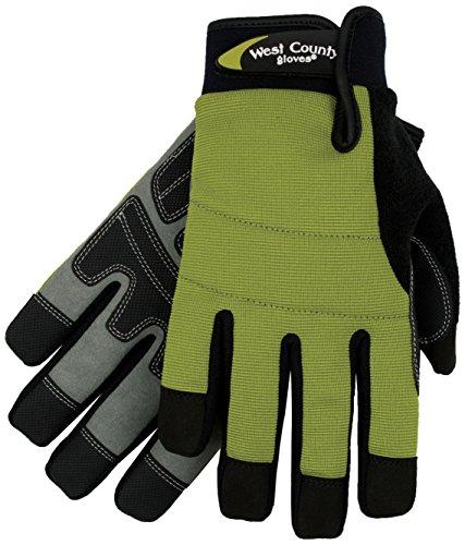 West County Gardener 038S/L Men's Waterproof Glove, Large, - West County