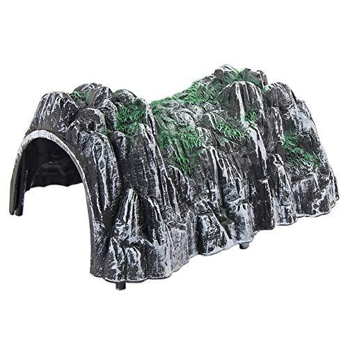 모델 동굴 터널 모델 열차용 레일 1/150 1개 철도 모형 건물 모형 디오라마 정경 콜렉션