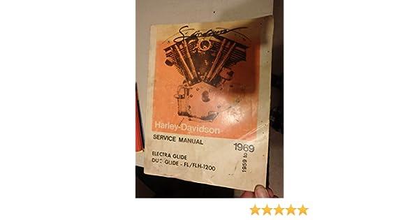 harley davidson electra glide years 1959 1969 service manual