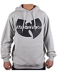 Wu-Wear Wu-Tang Clan Wu Tang App Grey Hoody Hoodie Sweater Mens