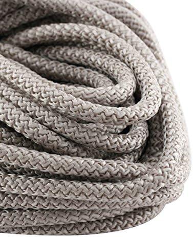 PARACORDE – Cuerda Escalada 5 mm Gris claro x1 m: Amazon.es ...
