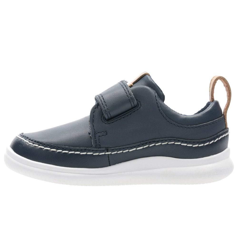 Boys Clarks Hook and Loop Fastening Shoes /'Cloud Ember/'