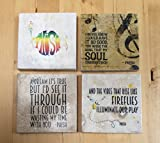 Phish Lyrics Coasters- Set of 4