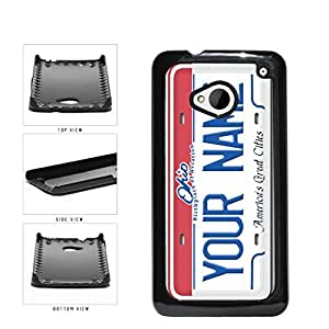 Personalized Custom Ohio License Plate Plastic Phone Case Back Cover HTC One M7