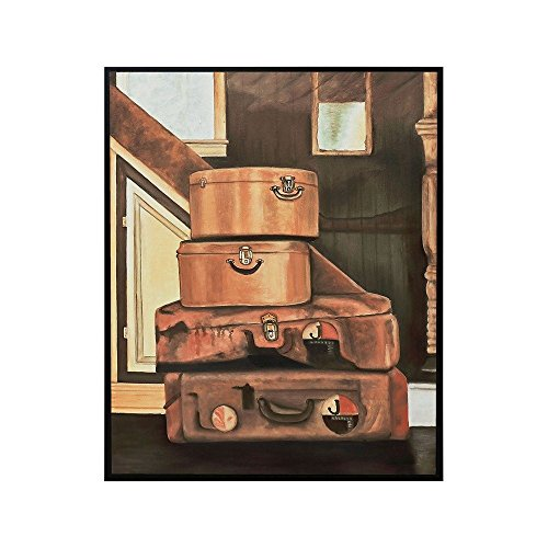 Sterling Industries 7011-1188 Leather Luggage - 31.18