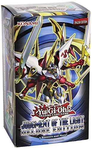 (Yugioh Judgment of the Light Deluxe Edition / Monster Box - 9 boosters packs + Shadow Specters promos by Yu-Gi-Oh!)