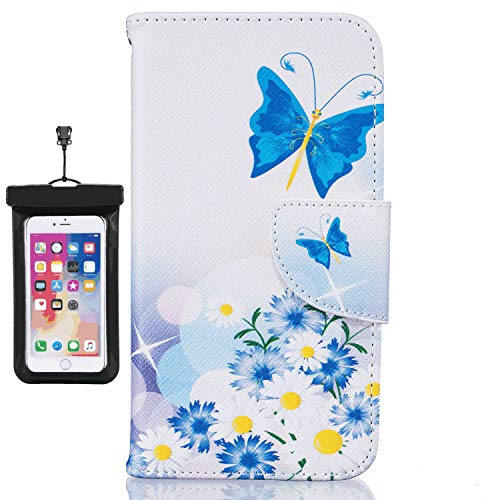 Huawei MATE30 PRO Flip Case, Cover for Huawei MATE30 PRO Leather Extra-Protective Business Mobile Phone Cover Card Holders Kickstand with Free Waterproof-Bag Absorbing