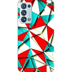 Joe Designer Printed Back Case Cover for Oppo Reno 6 Mobile (Multicolor) art48