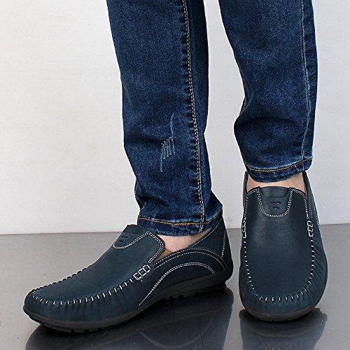 Botas sin Cordones Azul Hombre Salabobo daqZFxw