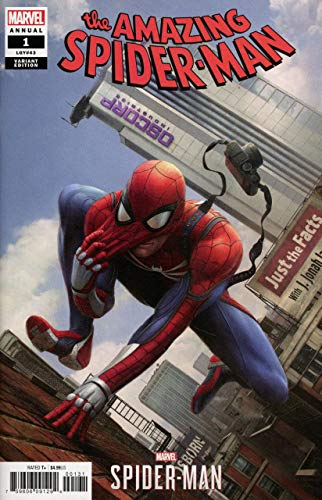 Amazing Spider-man Annual (2018) #1 VF/NM Marvel's Spider-Man Video Game Variant