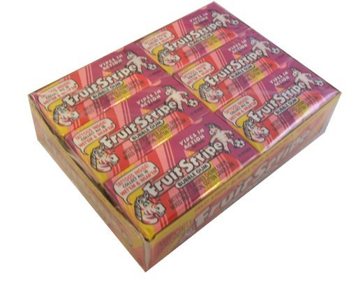 Fruit Stripe Gum - Bubble Gum Nostalgic Gum
