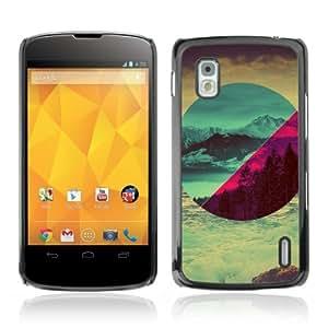 YOYOSHOP [Different Landscapes Art] LG Google Nexus 4 Case