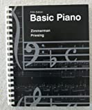 Basic Piano for College Students, Zimmerman, Marian and Priesing, Dorothy, 0697035549