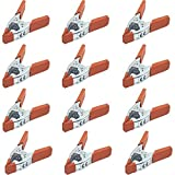 """Online Best Service 12 Pack 6"""" inch Clamp Large"""