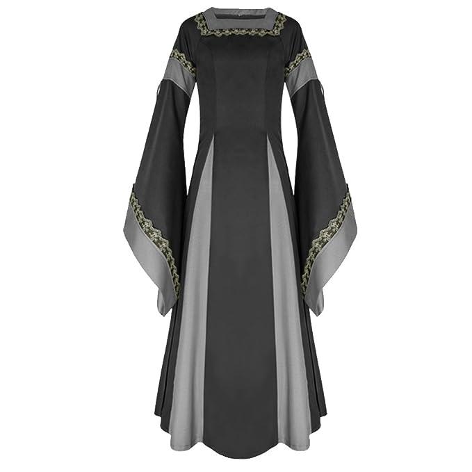 Amazon com: H&ZY Womens Medieval Dress Renaissance Costumes