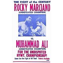 Rocky Marciano vs Muhammad Ali Poster Movie 11x17 Rocky Marciano Muhammad Ali