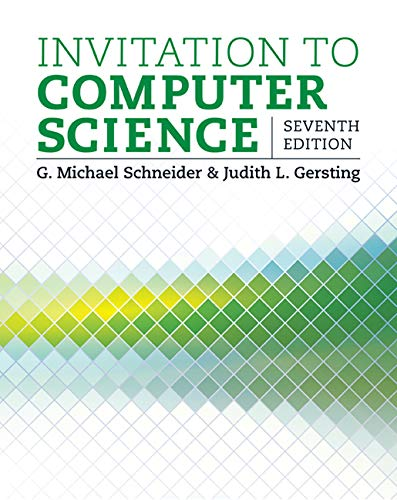 Invitation to Computer Science – Standalone book