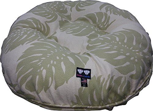BESSIE AND BARNIE 30-Inch Outdoor Bagel Bed for Pets, Small,