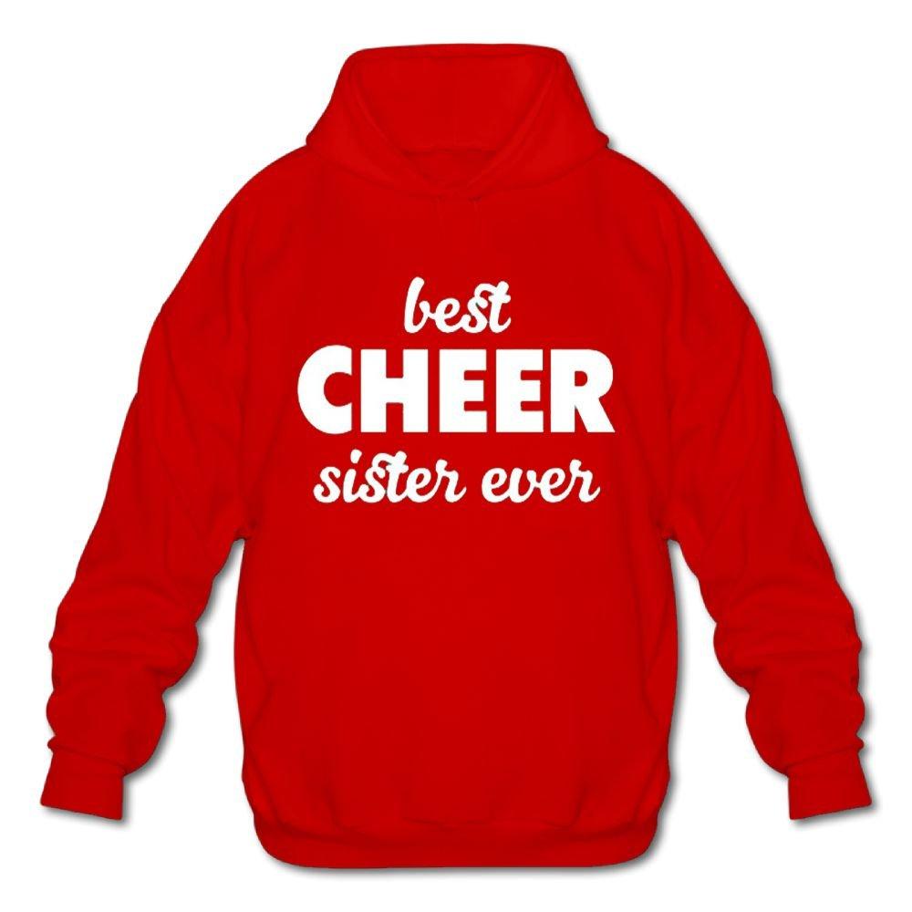Best Cheer Sister Ever 2018 New Winter Long Sleeve for Men Custom Hoodie Sweatshirt