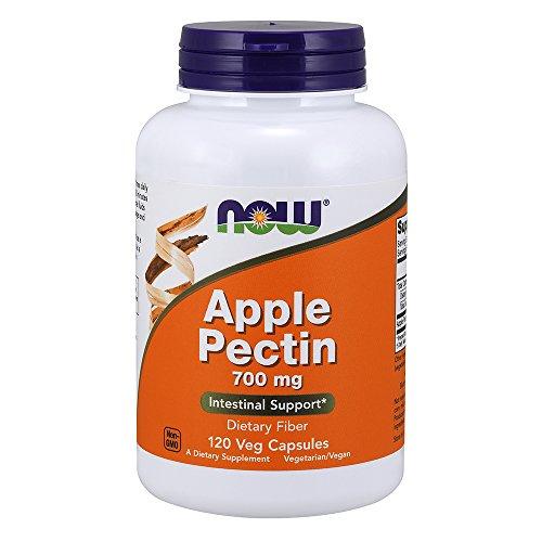 NOW Apple Pectin 700mg,120 Capsules - Pectin Dietary Fiber