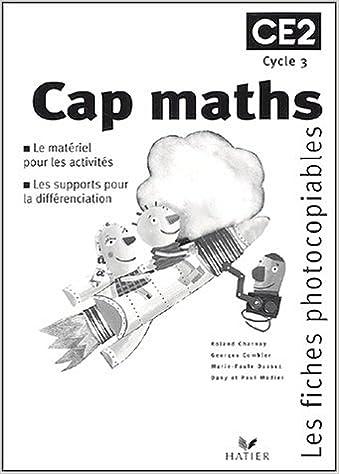 Téléchargement gratuit d'ebooks en ligne pdf Cap Maths : Fiches photocopiables, CE2 PDF ePub MOBI