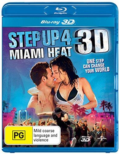 Step Up 4 Miami Heat 3D Blu-ray