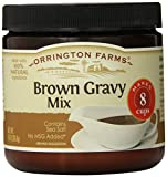 Orrington Farms Brown Gravy Mix Granular, 8-Ounce (Pack of 6)