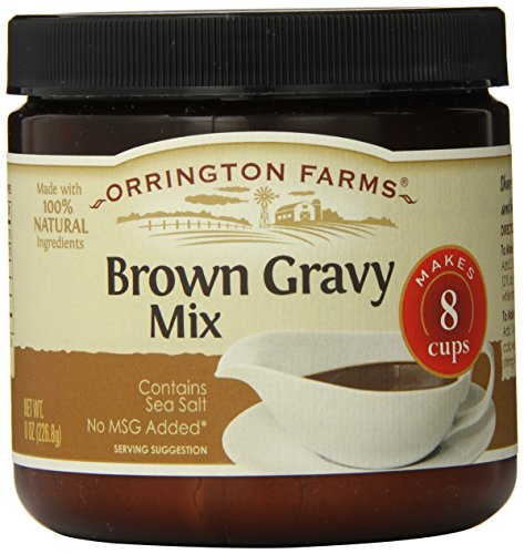 Make Gluten Free Slow Cooker Pot Roast recipe with Orrington Farms Brown Gravy Mix Granular, 8-Ounce (Pack of 6)