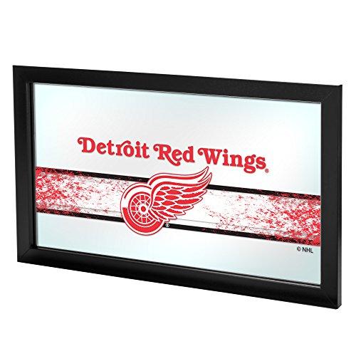 Trademark Gameroom NHL Detroit Redwings Framed Logo Mirror