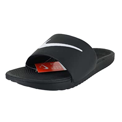 brand new cebd8 6d195 Nike Mens Mens KAWA Slide Black White Size 10