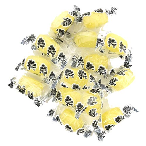 (Barrels of Yum - A Gourmet Twist on Traditional Root Beer Barrels - Crushed Pineapple - Individually Wrapped Hard Candy - 2 LB Bag)