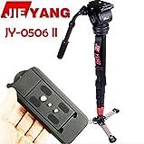 Jie Yang JY0506 II Aluminum Alloy 8KG Professional Monopod Tripod for Video & Camera Manfrotto 561BHDV-1 DHL/EMS