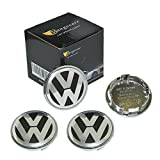 Mangocore 4 pieces for Volkswagen VW Wheel Center Hub 65mm Cap Cover Badge Emblem 3B7 601 171 VW GOLF JETTA MK5 PASSAT B6 CC GTI 3B7601171