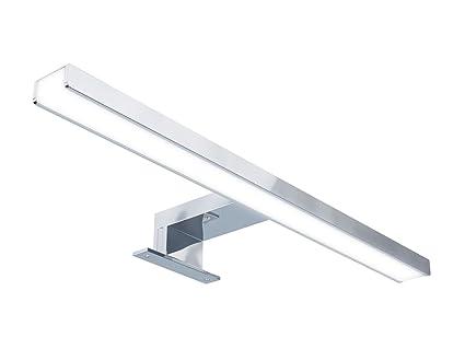 Starbath silvia 40cm luce a led applique faretto specchio arredo