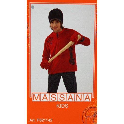 CAL FUSTER - Pijama Massana de Invierno Niño Talla 18: Amazon.es: Ropa y accesorios